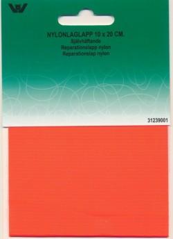 Lapper til regntøj - Reparationslap i Nylon i neon orange