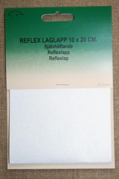 Lap reflex 10x20 cm.
