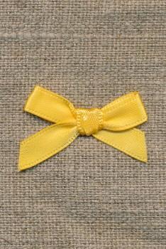 Satin sløjfe gul