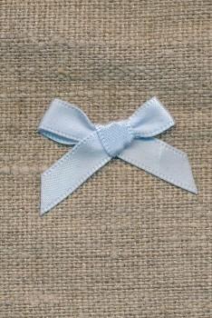 Satin sløjfe babylyseblå