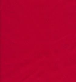 Bomuldssatin stretch, rød