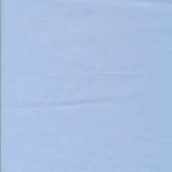 Bomuldssatin stretch i lyseblå