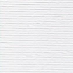 Rest Bomuld m/strib & stræk, hvid- 80 cm.