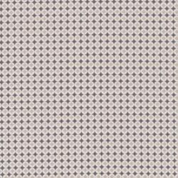 Bomuld m/lille mønster, sand/hvid/mørkegrå