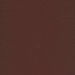 Bomuld chokoladebrun