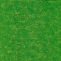 Bomuld batik i grøn og lime