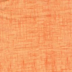 Bomuld meleret i lys orange og orange