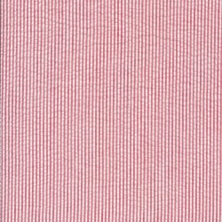Rest Stribet bæk og bølge i bomuld polyester, rød og hvid- 70 cm.