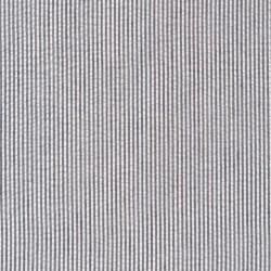 Stribet bæk og bølge i bomuld polyester, sort og hvid