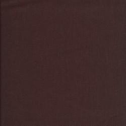100% bomuld økotex i mørk brun