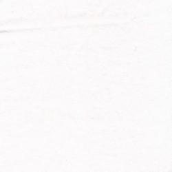 Flonel i hvid