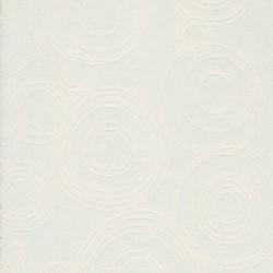 Dug-stof jacquard m/cirkler, off-white