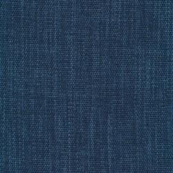 Meleret møbelstof blå