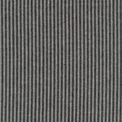 Kraftig bomuld/polyester i stribet sildeben i off-white og sort