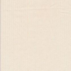 Kraftig bomuld/polyester i stribet sildeben i off-white og knækket hvid