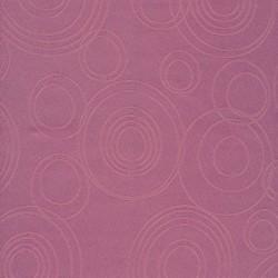Dug-stof jacquard m/cirkler i rosa