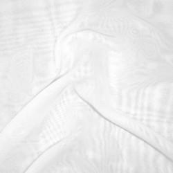 Chiffon i hvid