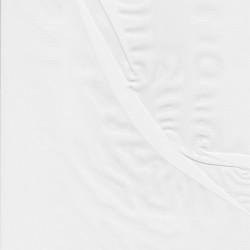 Chiffon i knækket hvid