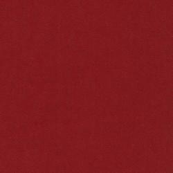 Twillvævet bomuld/denim med stræk i rust-rød