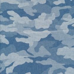Let cowboy i camouflage i lys denimblå