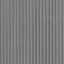 Fleece med striber-riller i grå