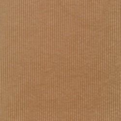 Bredriflet fløjl med stræk i beige