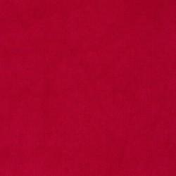 Babyfløjl med stræk i rød
