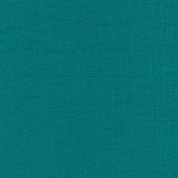 Rest 100% vasket ramie-hør i irgrøn- 25 cm.