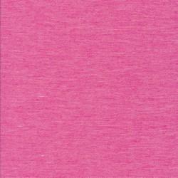 Hør- bomuld meleret i pink