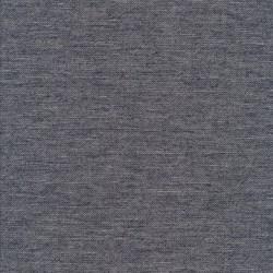 Hør- bomuld meleret i mørkeblå