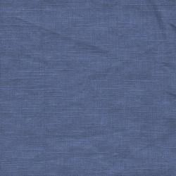 Let 100% vasket hør i denimblå
