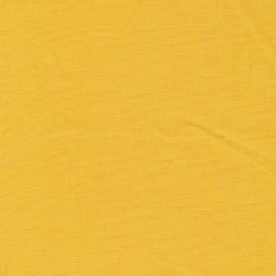 Let viskose/hør i lys støvet gul