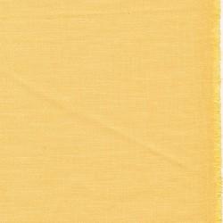 Hør/bomuld/viskose med stræk i lys gul