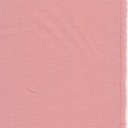 Hør/bomuld/viskose med stræk i lys rosa