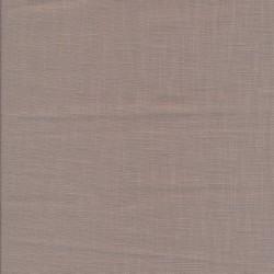 Let 100% vasket hør i pudder-brun