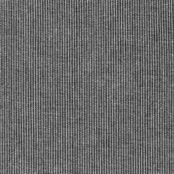 Hør/viskose med striber i sort og hvid