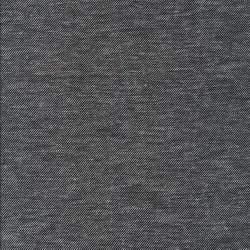 Hør/bomuld/viskose i twill-look i sort og hvid