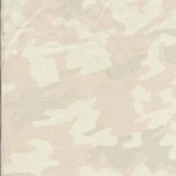Hør-viskose camouflage i pasteller