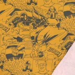 Isoli med tegneserie i mørk carry og army
