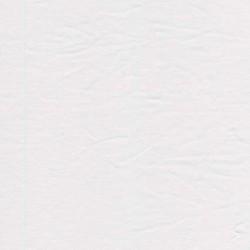 Rest Bomulds-jersey hvid- 45-60 cm. med sammensyning ved de 45 cm.