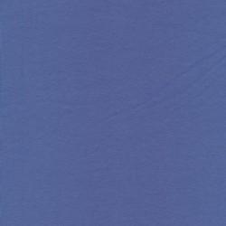 Jersey økotex bomuld/lycra, lavendel-blå