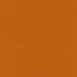 Jersey økotex bomuld/lycra i lys brændt orange