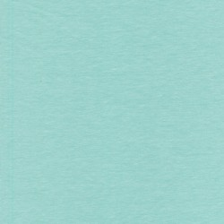 Jersey økotex bomuld/lycra meleret aqua