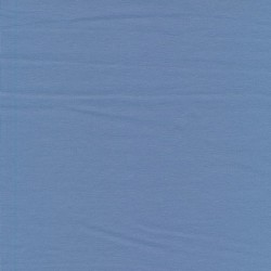 Jersey økotex bomuld/lycra, lys denim-blå