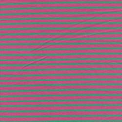 Bomuld/elasthan økotex m/striber pink/grøn
