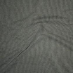 Rest Ribstrikket jersey i modal i lys støvet oliven- 90 cm.