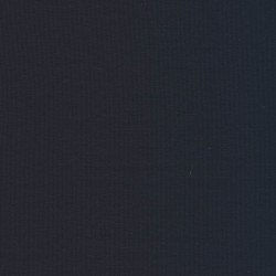 Jersey økotex bomuld/lycra, støvet mørkeblå