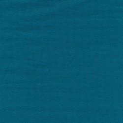 Jersey økotex bomuld/lycra, petrol