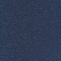 Meleret jersey denim-blå