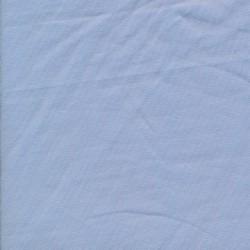 Jersey økotex bomuld/lycra, støvet lyseblå